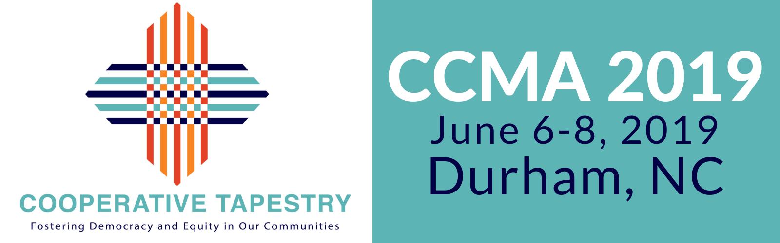 CCMA 2019 logo and theme
