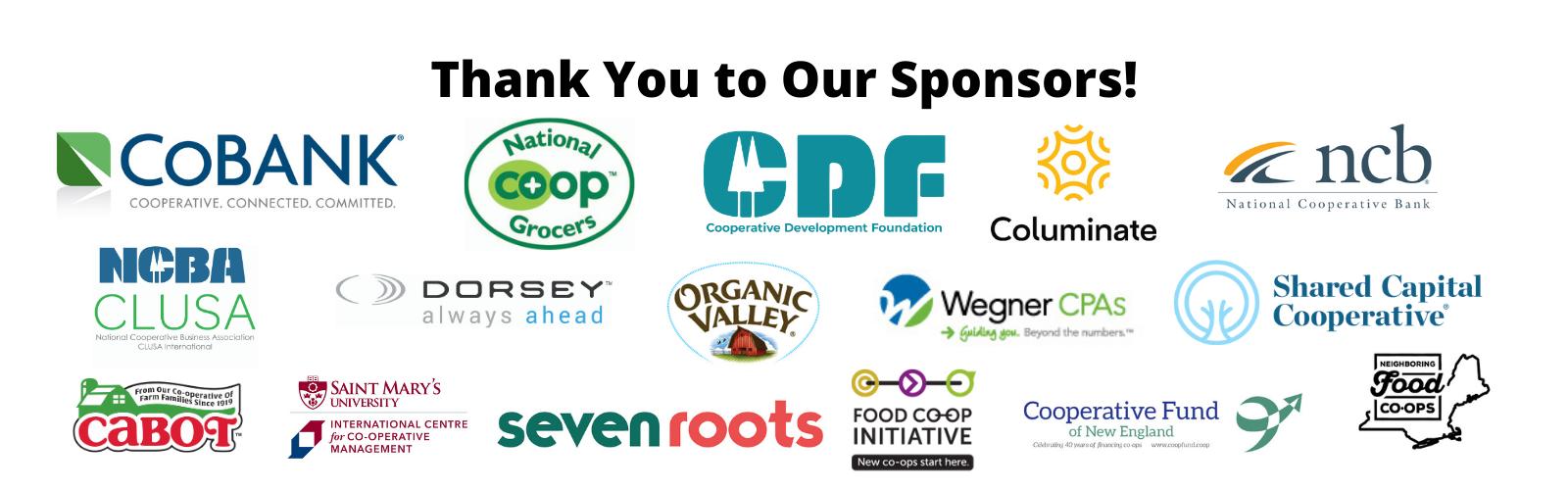 CCMA 2021 Sponsor logos