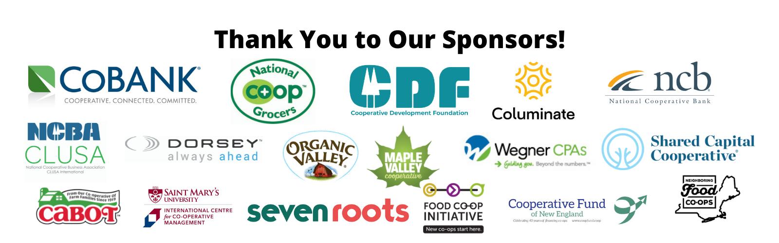 All Sponsor logos CCMA 2021